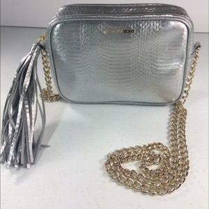 Vicotria Secret Metallic Bag